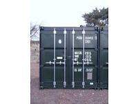 20ft Self Storage Containers in Secure Yard - Dalkeith - £75/month