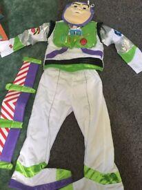 Buzz Lightyear fancy dress age 3-4