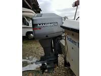 Mariner 75hp outboard can be seen runing eny time just been serivesd sold as seen