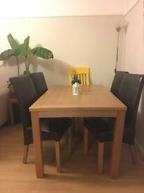 Dining Table 150x90 and 4 Chairs