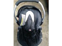 Child car seat hauck baby carrier excellent condition