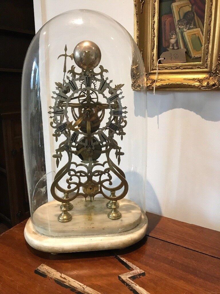 Fusee skeleton clock.