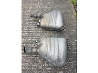 Audi A5 3.0tdi Back Box exhaust