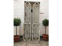 Metal trellis, indoor or out door decoration or statement piece.