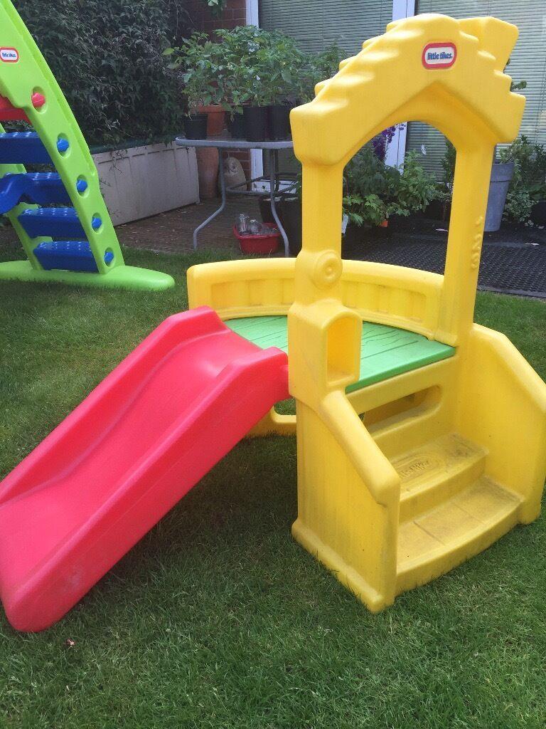 little tikes climb n slide playhouse in dukinfield. Black Bedroom Furniture Sets. Home Design Ideas