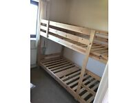Kids bunk bed for sale - Excellent condition - £75 asking price - negotiable.