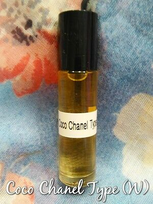 Coco Chanel Type (W) Pure Perfume Body Oil 1/3 oz  Roll - On