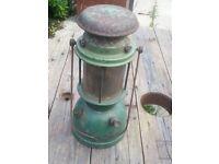 Vintage Old Parrafin Tilley Aladin Pressure lamp lantern