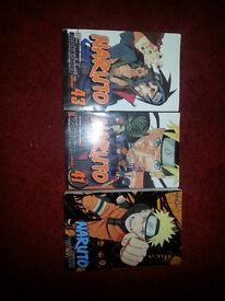 NARUTO vols 37, 38, 39, 41, 43 Shonon Jump, Manga. As New