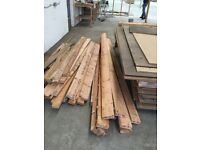Large amount of quality timber and insulation to clear