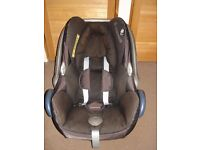 maxi cosi car seat for newborn up wards never been in accident
