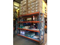 Clean Used Longspan Shelving For sale