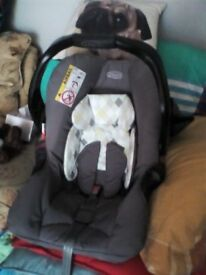 graco cosy toes and car seat