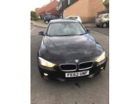BMW 3 series black , new shape