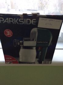 Parkside paint spray