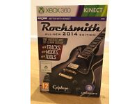 Xbox 360 - Rocksmith 2014 with Truetone Cable