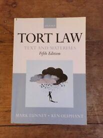 TORT LAW - Mark Lunney & Ken Oliphant