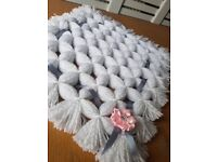 Hand made dolls pram blankets. Range of colours to choose from.