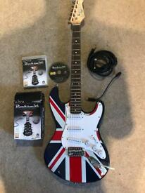 ROCKSMITH for PS3. Gear4music guitar