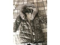 Girls NEXT coat age 11 warm and thick