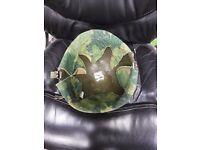 American Army M1 camouflage helmet