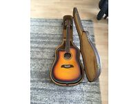 Left handed semi acoustic guitar, Washburn Oscar Schmidt 12 string, Excellent condition must see.