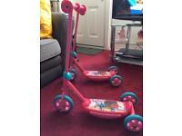 Doc McStuffins scooters (£5 each)