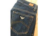 Boys blue Armani Jeans