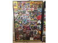 Large Marvel super heroes comic book picture