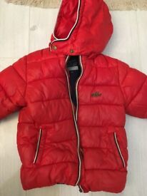 Warm 24m winter coat