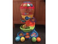 VTech pop and roll tower