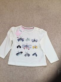 Girls tops - BRAND NEW with tags - M&S, Next, Gap