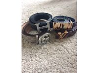 Design belts 30 each or two for 50