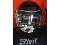 Motorcycle Half Face Helmet Size M GOOD AS NEW !!!!!!!!!!!!!!!!!!.............................