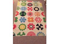 Flower Rug For Sale - Good Condition