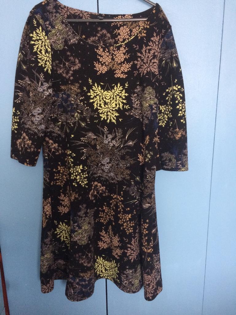 Next winter textured dress size 14