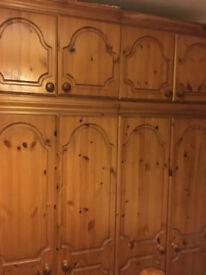 6 piece pine bedroom set
