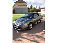 MG-TF 1.8L. GOOD CONDITION IN POWER GREY. GREAT FOR THIS TIME OF YEAR.