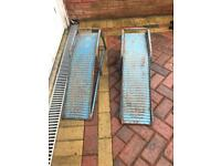 Car ramps collect bicester