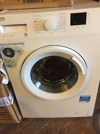 Beko Washing Machine 8kg New and Unused