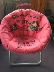Girls Folding Chair