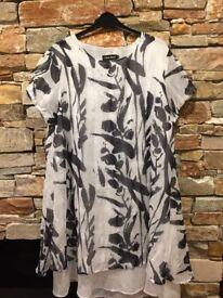 Ladies linen dress size L/XL