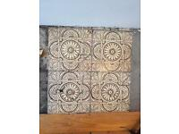 Victorian antique fireplace tiles (all broken)