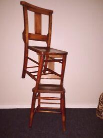 Ecclesiastical 19th Century Antique Chairs