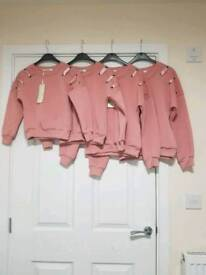 Brand New girls jumpers