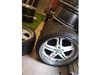 Alloy Wheels for Toyota Lexus Soarer