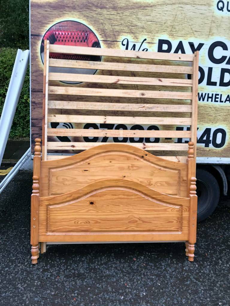 double bed frames with all the accesseries £75 a piece