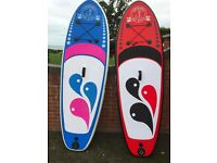 "Ex Display High Quality Paddle boards. SUP. 10'6"" and Kids 8'6"" with all accessories. From £250"