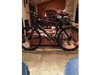 Carrera hybrid mountain bike