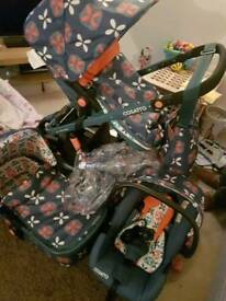 3 in 1 cosatto giggle travel system